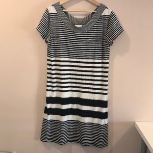 Anthropologie Maeve Haven Striped Dress